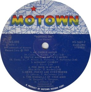 MOTOWN 698 - HARNELL - R