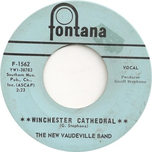 New Vaudeville Band - Fontana 1562 - Winchester Cathedral