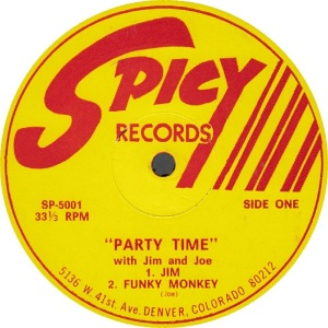 Spicy LP 5001 - Jim and Joe - Party Time 1