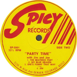 Spicy LP 5001 - Jim and Joe - Party Time 2