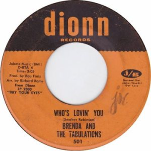 1967 - Brenda Tabulations - 66 rb 19