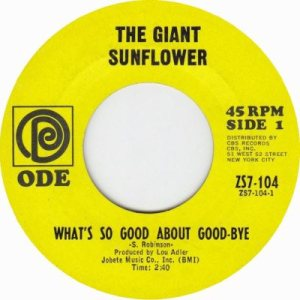1967 - Giant Sunflower - 116