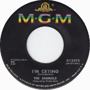 Animals - MGM 13274 - I'm Crying