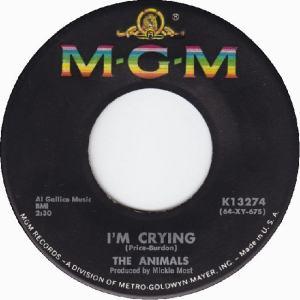 Animals - MGM 13274 - I'm Crying