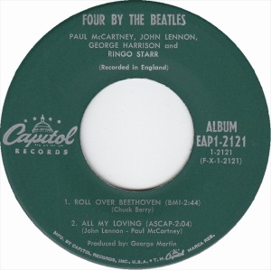 Beatles - Capitol 2121 EPA - Four By the Beatles