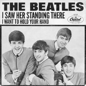 Beatles - Capitol 5112 PS - I Saw Her Standing There