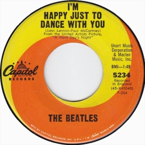 Beatles - Capitol 5234 - I'm Happy Just to Dance With You