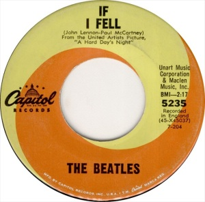 Beatles - Capitol 5235 - If I Fell