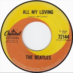 Beatles - Capitol 72144 - All My Loving