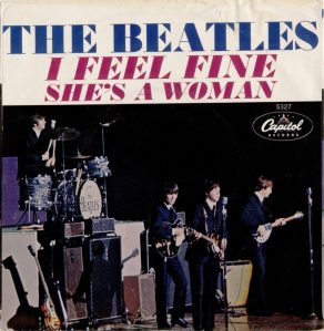 BEATLES - I FEEL FINE PS