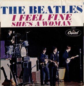 BEATLES - I FEEL FINE PS
