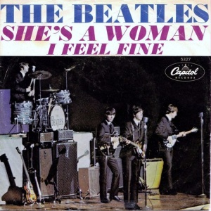 BEATLES - SHES A WOMAN PS