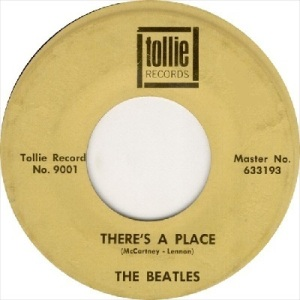 Beatles - Tollie 9001 DJ - There's a Place