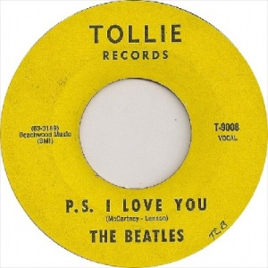 Beatles - Tollie 9008 - P.S. I Love You