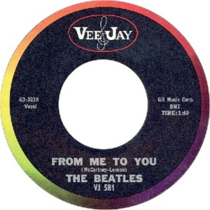 Beatles - Vee Jay 581 - From Me to You