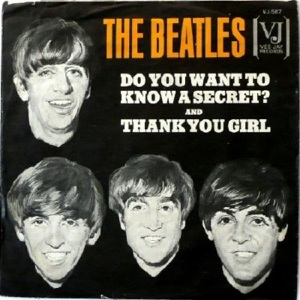 Beatles - Vee Jay 587 - Do You Want to Know a Secret - PS