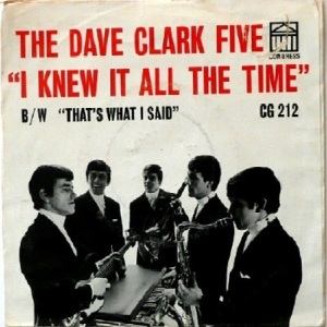 Clark Five, Dave - Congress 212 - I Knew It All The Time - PS