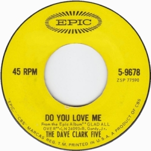 Clark Five, Dave - Do You Love Me