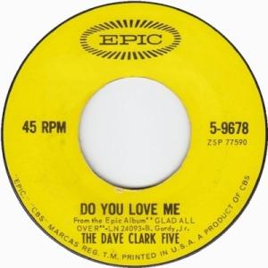 Clark Five, Dave - Do You Love Me