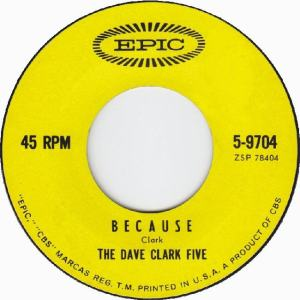 Clark Five, Dave - Epic 9704 - Because