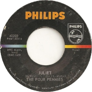 Four Pennies - Philips 40202 - Juliet