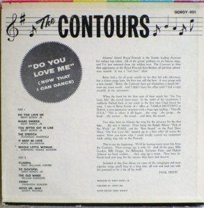 Gordy 901B - Contours