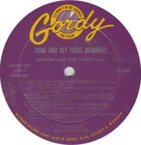 GORDY 902 - VANDELLAS - A