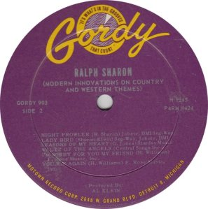 GORDY 903 - SHARON B