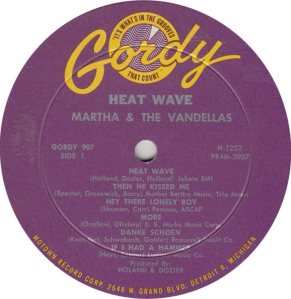 GORDY 907 - VANDELLAS - A