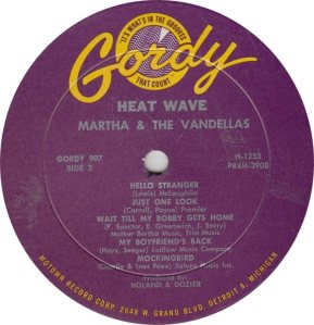 GORDY 907 - VANDELLAS - B