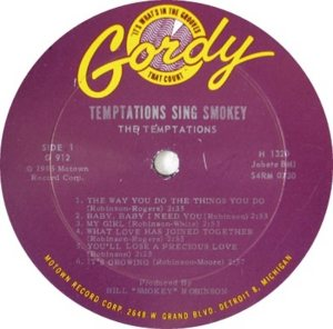 GORDY 912 - TEMPTATIONS - RA