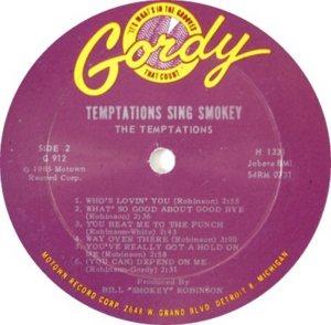 GORDY 912 - TEMPTATIONS - RB