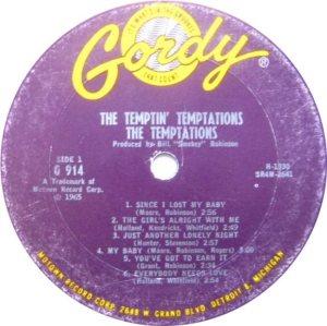 GORDY 914 - TEMPS A