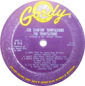 GORDY 914 - TEMPS B