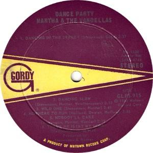 GORDY 915 - VANDELLAS R (1)