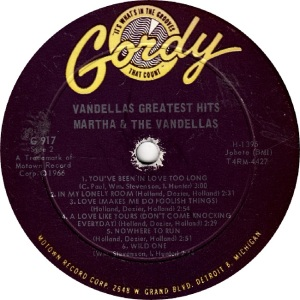 GORDY 917 - VANDELLAS R (2)