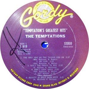 GORDY 919 - TEMPS - A