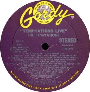GORDY 921 - TEMPS A