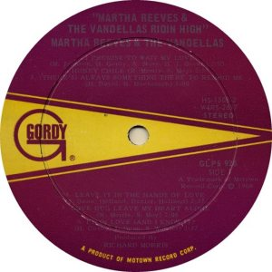 GORDY 926 - VANDELLAS A