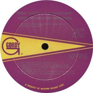 GORDY 930 - VANCOUVERS A