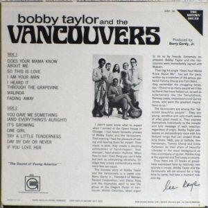 Gordy 930B - Bobby Taylor