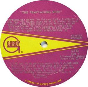 GORDY 933 - TEMPS A