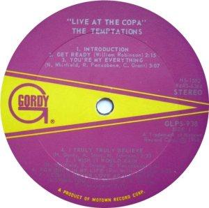 GORDY 938 - TEMPS RA