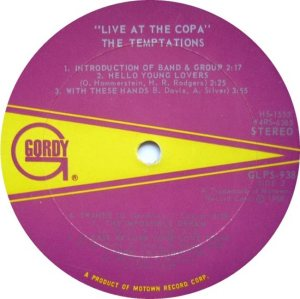 GORDY 938 - TEMPS RB