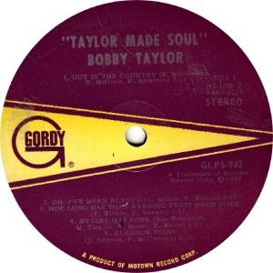 GORDY 942 - TAYLOR R