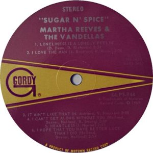 GORDY 944 - VANDELLAS B