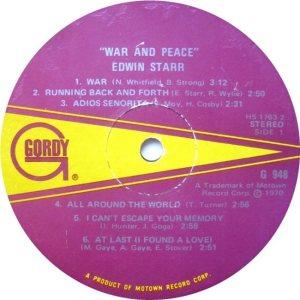 GORDY 948 - STARR A