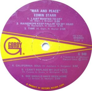 GORDY 948 - STARR B