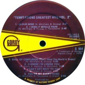 GORDY 954 - TEMPS A