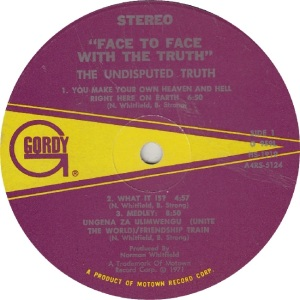 GORDY 959 - UND TRUTH - R